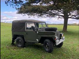 Landrover Ex Army lightweight petrol