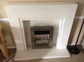 Nice fire place fitting with base