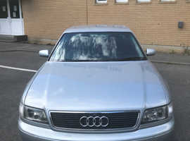 Audi A8, 1998 (S) Silver Saloon, Automatic Petrol, 148,000 miles