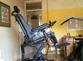 Wheelchair quickie jive m custom powerchair electric wheelchair