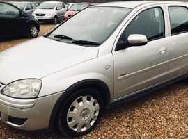 Vauxhall Corsa, 2009 (59) Silver Hatchback, Manual Diesel, 110 miles