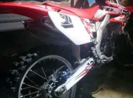 Honda crf250 09
