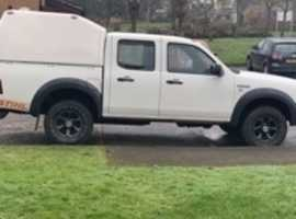 Ford Ranger, 2008 (08), Manual Diesel, 158,000 miles