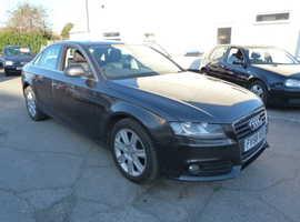 Audi A4, 2009 (58) Grey Saloon, Cvt Diesel, 83,000 miles