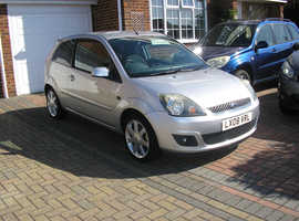 (2008) FORD FIESTA 1.2 ZETEC CLIMATE MET/SILVER 3 DOOR 5 SPEED (56000 MILES ABSOLUTELY IMMACULATE CONDITION)