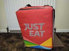 Just Eat Delivery Backpack.