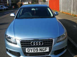 Audi A4, 2009 (09) Blue Estate, Manual Diesel, 118,000 miles