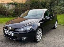 Volkswagen Golf, 2011 (61), Manual Diesel, 52,000 miles