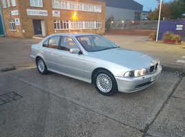 BMW 5 Series, 2001 (Y) Silver Saloon, Automatic Diesel, 115,000 miles