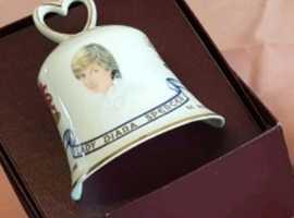 Royal Wedding Comemorative Ceramic Bells Collection.