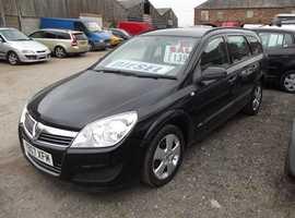 Vauxhall Astra, 2007 (07) Black Estate, Manual Diesel, 113,000 miles