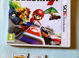 Mario Kart 7 and Super Mario Bross 2 (Nintendo 3DS)