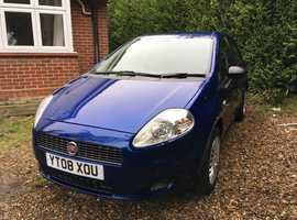 Fiat Grande Punto 1.2 ACTIVE 5 DOOR 2008 (08) Blue  Manual Petrol,  ONLY 77K SH  HPI CLEAR BEST OFFERS