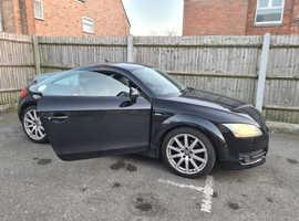 Audi TT, 2009 (58) Black Coupe, Automatic Petrol, 138,588 miles