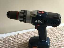 AEG 18v cordless drill for sale