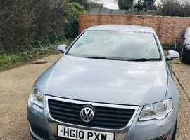 Volkswagen Passat, 2010 (10) Grey Saloon, Manual Diesel, 180,000 miles