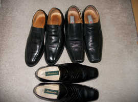 3 Pairs of mens shoes