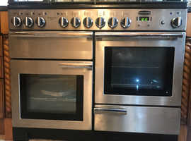 Rangemaster 110 Gas (5 ring Hob) and 2 electric ovens & grill - excellent condition