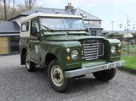 "Land Rover Series 3 - 88"" - Petrol 4 CYL, 1978 - Galvanised Chassis"