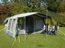 Sunncamp 300SE inflatable trailer tent. Brand new inflatable and canvas.