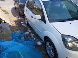 Ford Fiesta, 2008 (08) White Hatchback, Manual Diesel, 133 miles