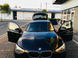 BMW 1 series, 2014 (14) black hatchback, Manual Petrol, 29,900 miles