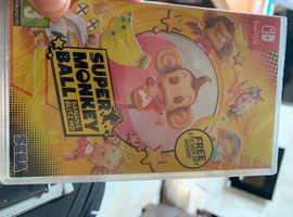 New sealed Nintendo Switch game super monkey ball £35