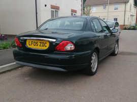 Jaguar X-TYPE, 2005 (05) Green Saloon, Automatic Petrol, 73,255 miles