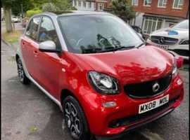 Smart Forfour, 2015 (15) Red Hatchback, Manual Petrol, 38,927 miles