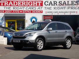 Honda CR-V, 2009 (09) Silver Estate, Automatic Petrol, 81,627 miles