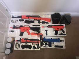 bb guns and equipment