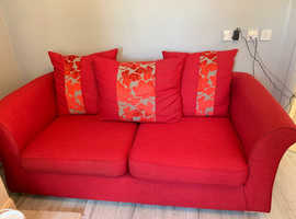 DFS 3 seater sofa and 2 seater pull out sofa bed