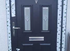 Pvc frame composite door