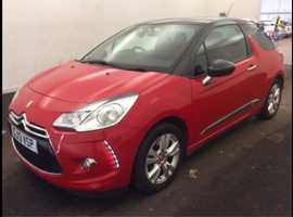 Citroen Ds3 1.6 VTI 120 DSTYLE , 2013 (13) Red Hatchback, Manual Petrol, 52,417 miles hpi clear