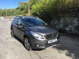 Peugeot 2008, 2018 (18) Grey Hatchback, Manual Petrol, 11,600 miles