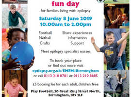 Epilepsy Action Fun Day for Families Living with Epilepsy