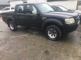 Ford Ranger, 2007 (07) Black 4x4, Manual Diesel, 128,408 miles