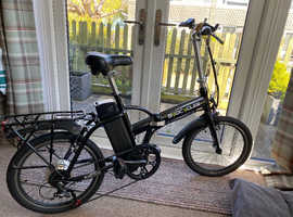 "Biocycle City Speed 20"" Folding Electric Bike - 7.8Ah Battery"