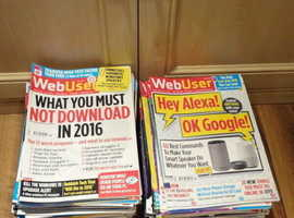 WebUser Computer Magazines huge collection every issue from June 2013 - Jan 2109