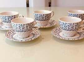 China, 5 Cups & 6 ?Saucers