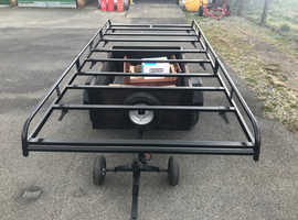 RHINO ROOF RACK, with roller for ladders