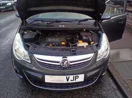 Vauxhall Corsa, 2011 (11) Grey Hatchback, Manual Petrol, 94,014 miles