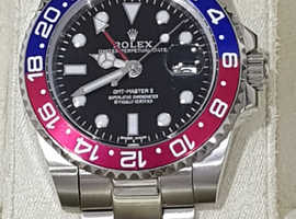 Rolex  GMT master 2 luxury mens watch