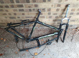 Python Mountain Bike Frame  Forks & Other Parts