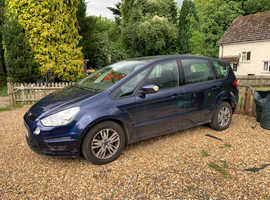 Ford S-Max, 2012 (12) Blue MPV, Automatic Diesel, 155,000 miles