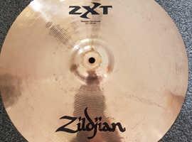 Zildjian zxt rock  set plus 14' China and Carry bag