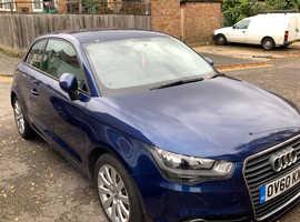 Audi A1, 2010 (60) Blue Hatchback, Manual Petrol, 81,000 miles