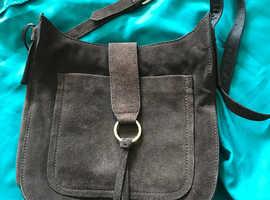 Mink/brown suede Next bag.