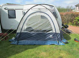 Sunncamp Scenic Plus Fr (Large) Caravan Porch Awning plus extras £80 ovno