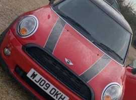 Mini MINI, 2009 (09) Red Hatchback, Manual Petrol, 89,432 miles